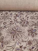 "Льняная скатертная ткань ""Рута"" (шир. 150 см), фото 1"