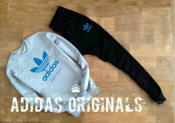 Тренировочный мужской Зимний споривный костюм Adidas (Адидас)