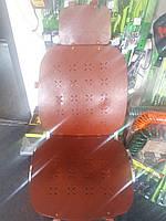 Накидка на сидение AG-24755 BRAUN кожа