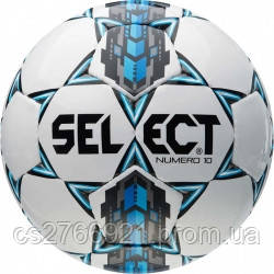 Мяч футбольный SELECT Numero 10 (305) бел/сер/голуб, размер 4