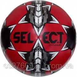 Мяч футбольный SELECT Dynamic (013) кр/черн размер 5, фото 2