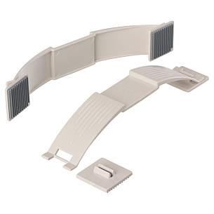 ПАТРУЛЬ Стопор для дверей, 2 штуки, білий, 10098949, ІКЕА, IKEA PATRULL, фото 2