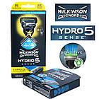 Набор Станок Schick Wilkinson Sword Hydro 5 Sense 1 кас.Energize + кассеты Hydro 5 Sense Hydratant 01141, фото 2