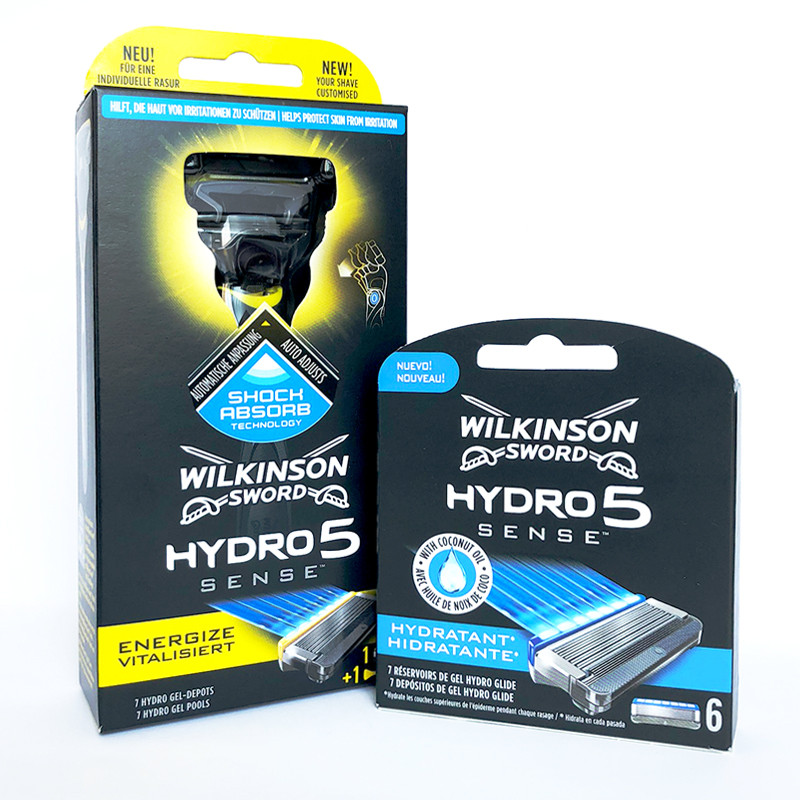 Набор Станок Schick Wilkinson Sword Hydro 5 Sense 1 кас.Energize + кассеты Hydro 5 Sense Hydratant 01141