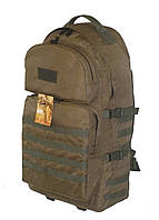 Тактический армейский туристический крепкий рюкзак 60 литров Койот. Армия,охота, спорт, туризм, рыбалка