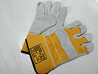 Перчатки рабочие кожанные MORIS
