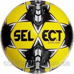 Мяч футбольный SELECT Dynamic (014) желт/черн/серый размер 5, фото 2