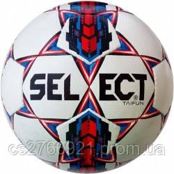 Мяч футбольный SELECT Taifun (017) бел/красн р.4