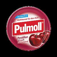 Pulmoll Pastillen Kirsch - Леденцы без сахара Вишня + витамин С, 50 г