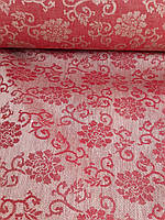 """Льняная глянцевая скатертная ткань """"Натали"""" (шир. 160 см), фото 1"""