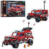 Конструктор 2в1 (пожарная машина, гоночная), 513дет., 10824