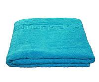 Полотенце для пляжа 100*150 см (пл.450 г/м2) Голубой