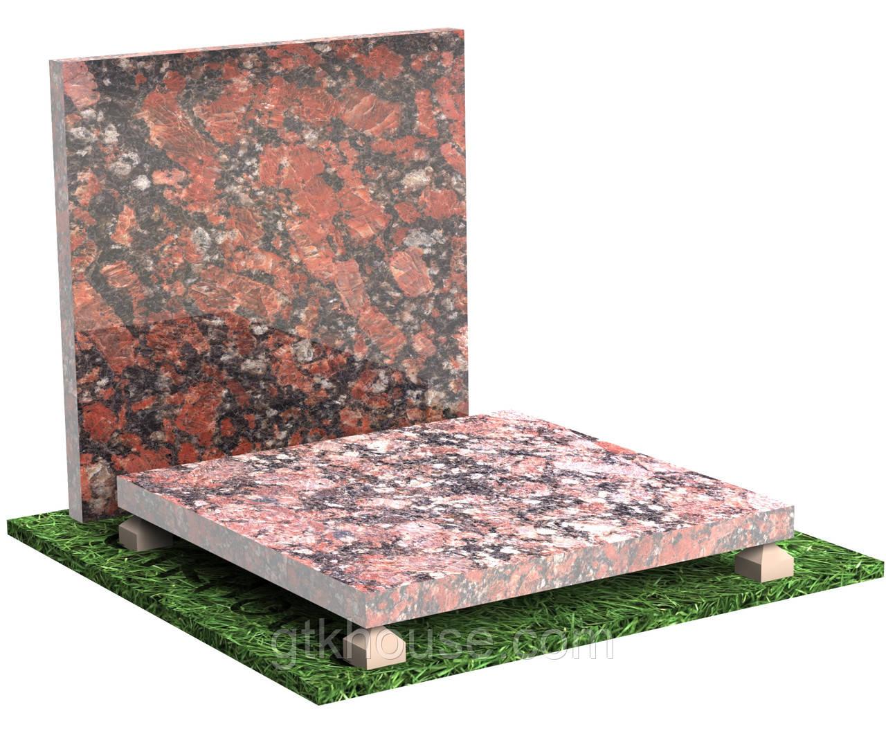 Плитка гранітна Капустинська