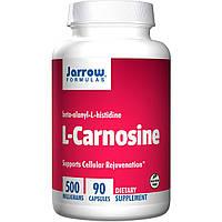 L-карнозин (L-Carnosine) Jarrow Formulas 500 мг 80 капсул