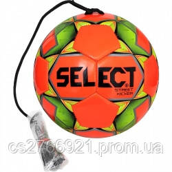 Мяч футбольный SELECT Street Kicker (028) оранж/желтый р.4, фото 2