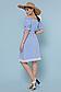 Летнее платье с поясом рукав фонарик открытые плечи р.42-48, фото 3