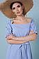 Летнее платье с поясом рукав фонарик открытые плечи р.42-48, фото 9
