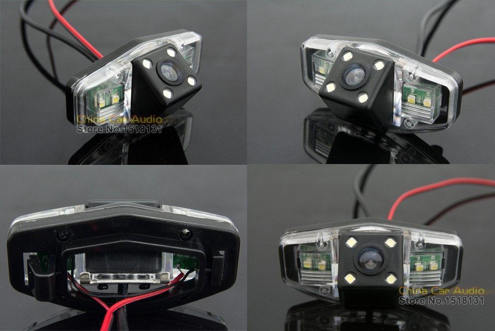 Камера заднего вида универсальная хонда аккорд Honda Accord 2001-2010 цветная матрица CCD