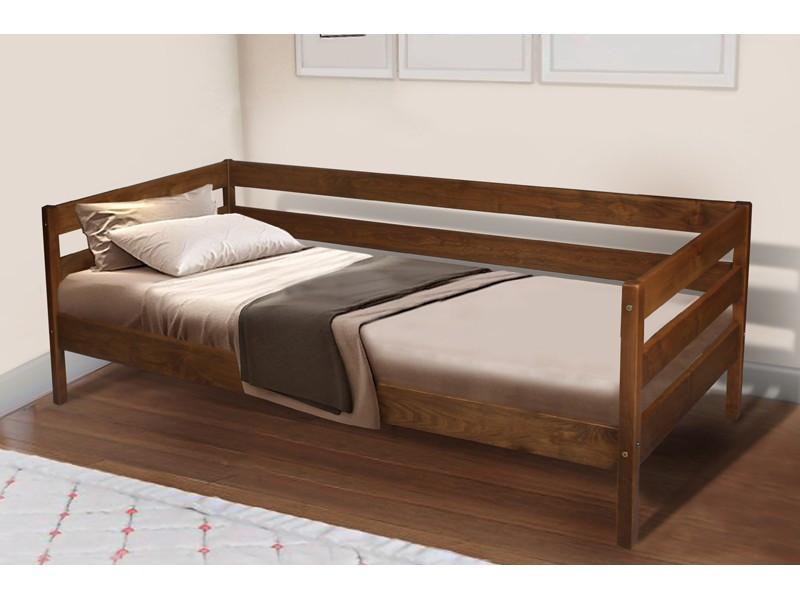 Деревянная кровать Микс Мебель SKY-3, 800*1900 Венге