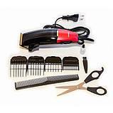Профессиональная машинка для стрижки волос Gemei GM-807, фото 3