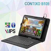 "Недорогой 3G Планшет CONTIXO B105 10.1"" 1280х800 1GB RAM 16GB ROM GPS + Чехол-клавиатура"