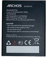 Аккумулятор Archos AC50CPL. Батарея Archos AC50CPL (2000 mAh) для 50C Platinum. Original АКБ (новая)