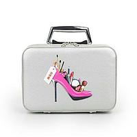 Кейс для косметики Туфелька серый, фото 1