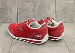 Мужские кроссовки Lacoste (красные) , фото 3