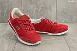 Мужские кроссовки Lacoste (красные) , фото 5