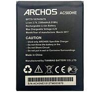 Аккумулятор Archos AC50DHE. Батарея Archos AC50DHE (2300 mAh) для 50d Helium 4G. Original АКБ (новая)