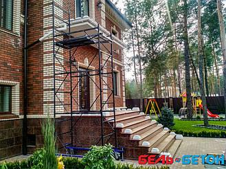 Балюстрада в коттеджном городке «Green Wood сlub»   Балясины бетонные в Киевской области 3