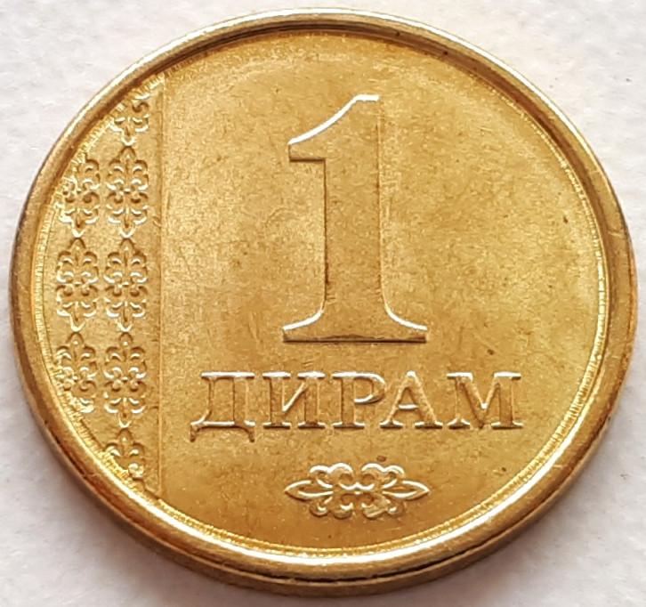 Таджикистан 1 дирам 2011