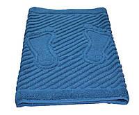 Полотенце/коврик для ног 50*70 см (пл.700 г/м2) Синий