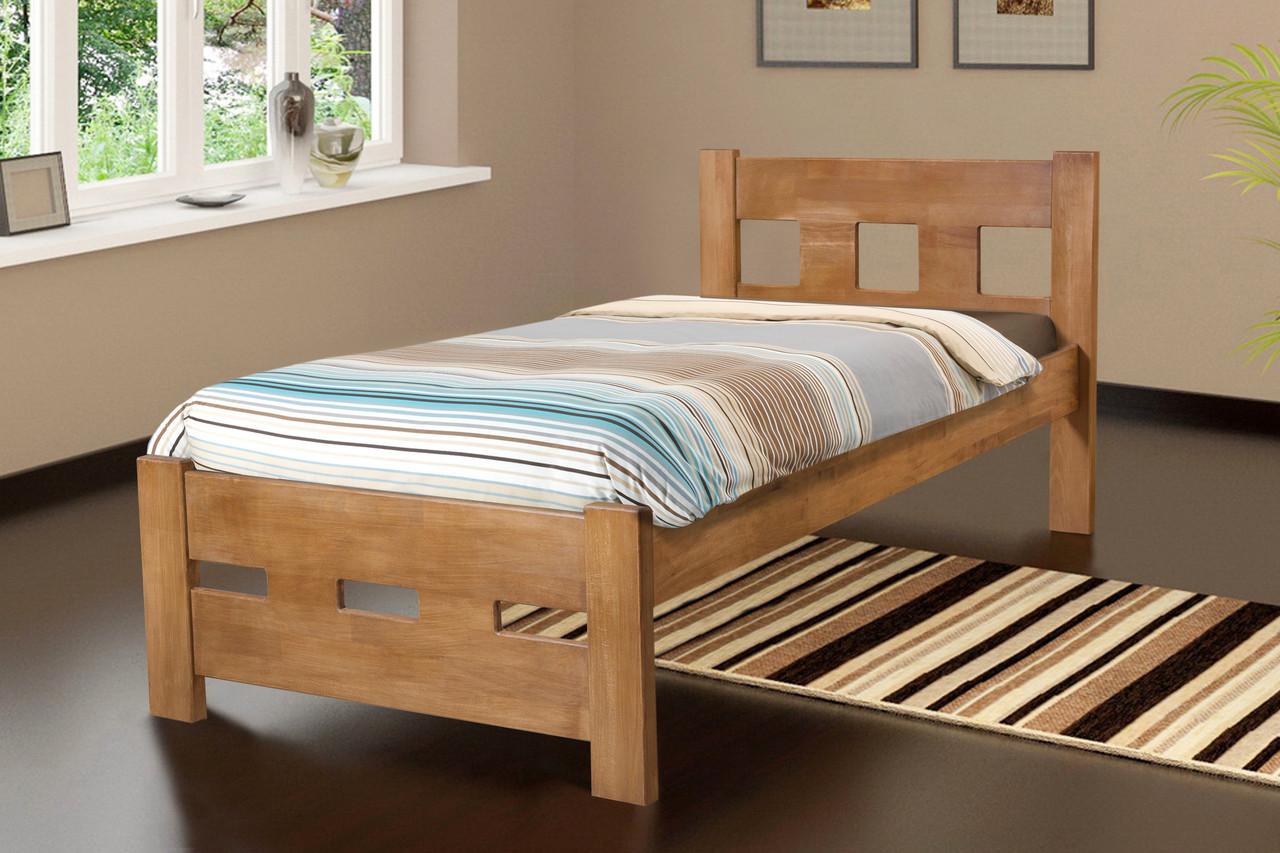 Дерев'яне ліжко Мікс Меблі SPACE, 900*2000