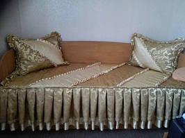 Покрывало с наволочками для детской кровати (Харьковская обл.)