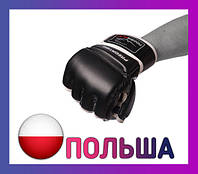 Перчатки для MMA PowerPlay 3056 Чорні S
