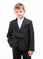Пиджак школьный классический черный для для мальчика