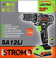 Шуруповерт аккумуляторный STROMO SA-12 LI Extra (с гибким валом)