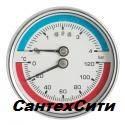 Термоманометр горизонтальный (осевой) 6 bar