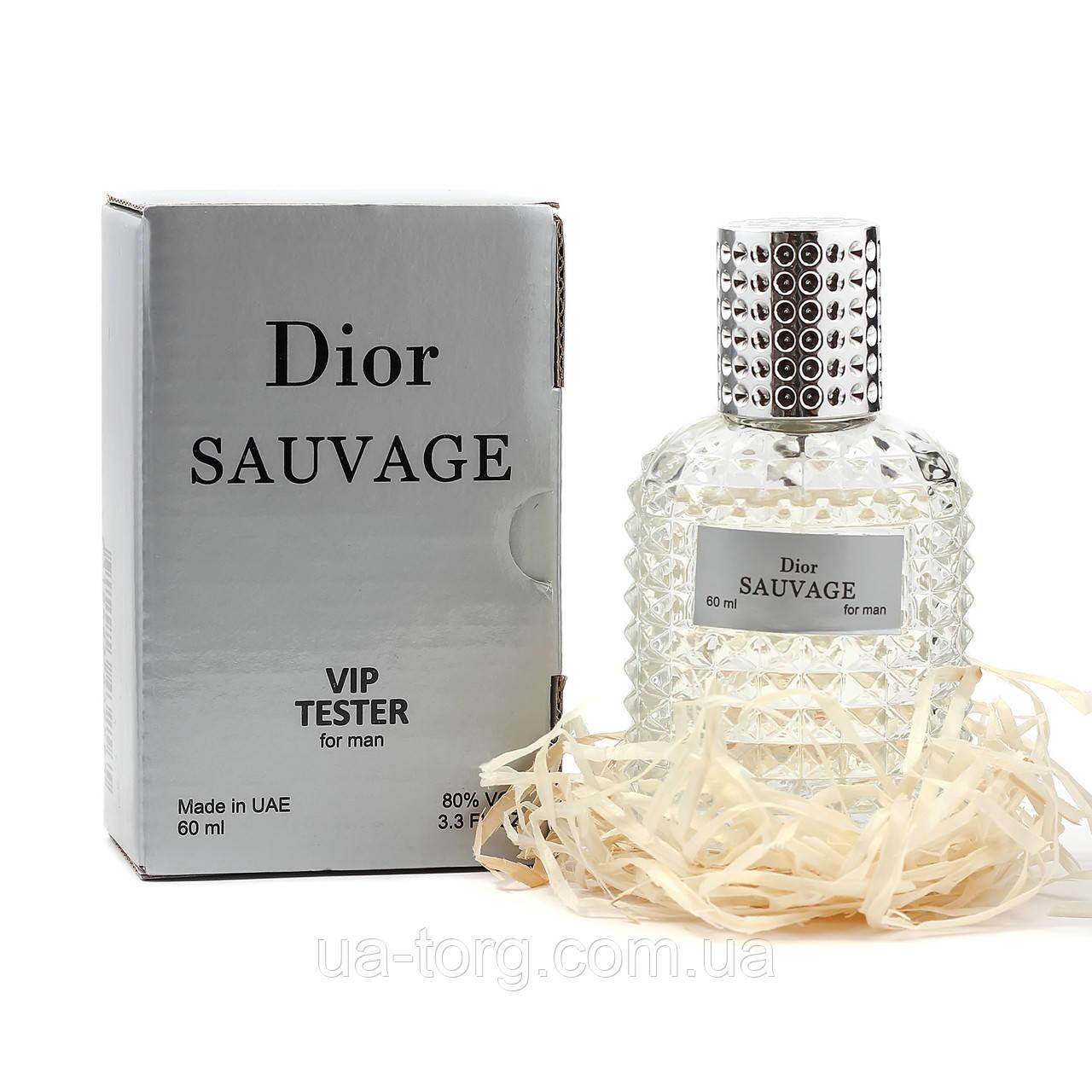 Christian Dior Sauvage TESTER VIP, мужской, 60 мл