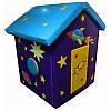 Детский мягкий домик Космос из ПВХ