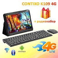 "Игровой 4G Планшет CONTIXO K109 10.1"" 1920х1200 3GB RAM 32GB ROM GPS + Радионабор"