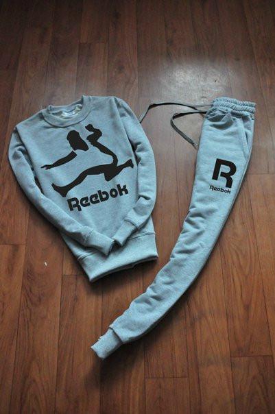Чоловічий тренувальний спортивний костюм реглан Reebok(Рібок)