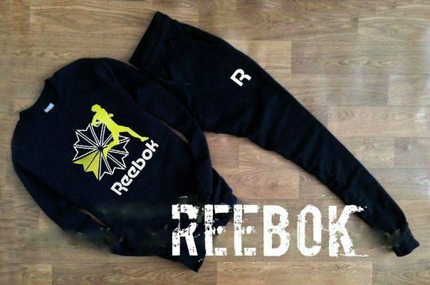 Спортивный мужской Зимний костюм Reebok (Рибок)
