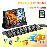 "Игровой 4G Планшет CONTIXO K109  10.1"" 1920х1200 3GB RAM 32GB ROM GPS + Радионабор + Карта 64GB"