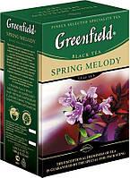 Черный Листовой чай Greenfield Spring Melody, 100 г