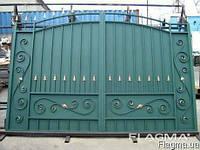 Кованый забор,металлический забор