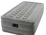 Надувні ліжка Intex Ultra Plush Twin 67952 з вбудованим насосом 220 В (99 x 191 x 46 см), фото 6