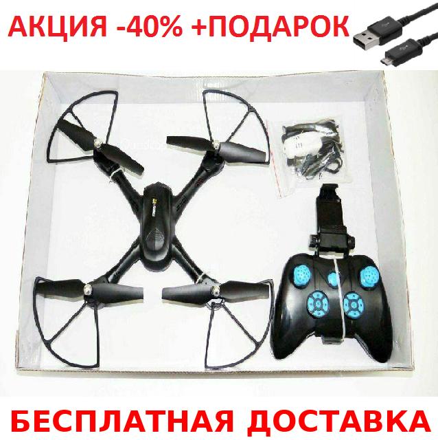 Радиоуправляемый квадрокоптер D11 с WIFI камерой quadrocopter + зарядный USB-microUSB кабель