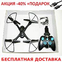 Радиоуправляемый квадрокоптер D11 с WIFI камерой quadrocopter + зарядный USB-microUSB кабель, фото 1